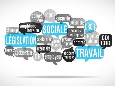 législation sociale, droit du travail, santé au travail